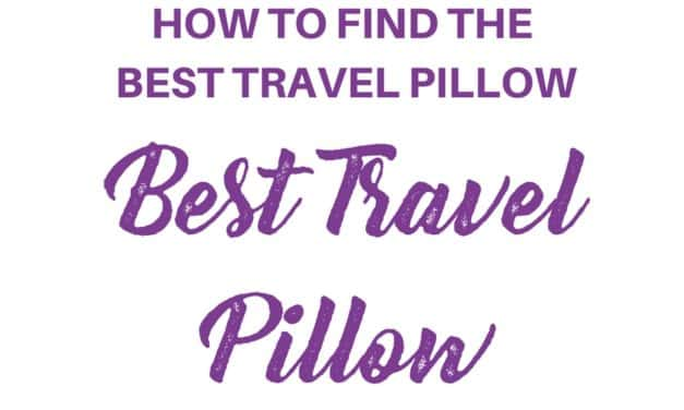 How to Find the Best Travel Neck Pillow