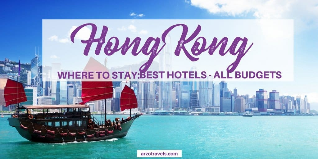 Best places to stay in Hong Kong - all areas all budgets
