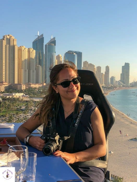 Dinner in the Sky Dubai with Arzo Travels
