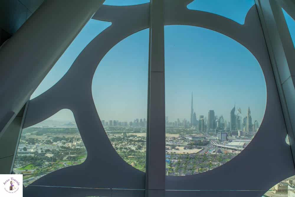Views from Dubai Frame - best photo locations
