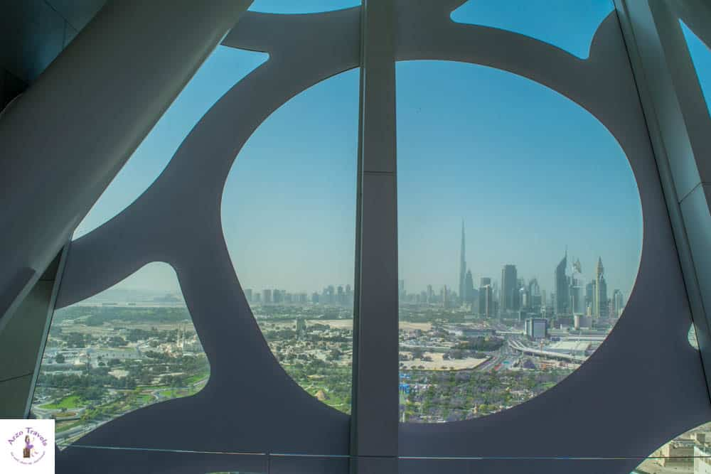 Views from Dubai Frame