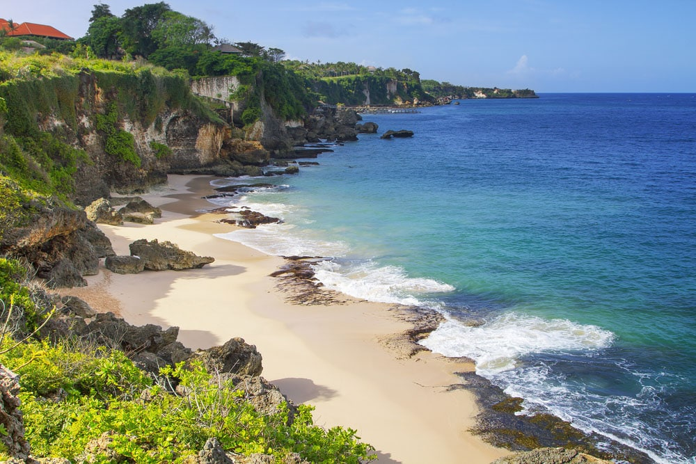Jimbaran Bay in Bali where to stay in Bali