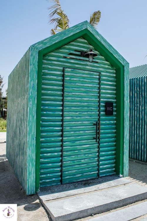 Toilets at La Mer Dubai