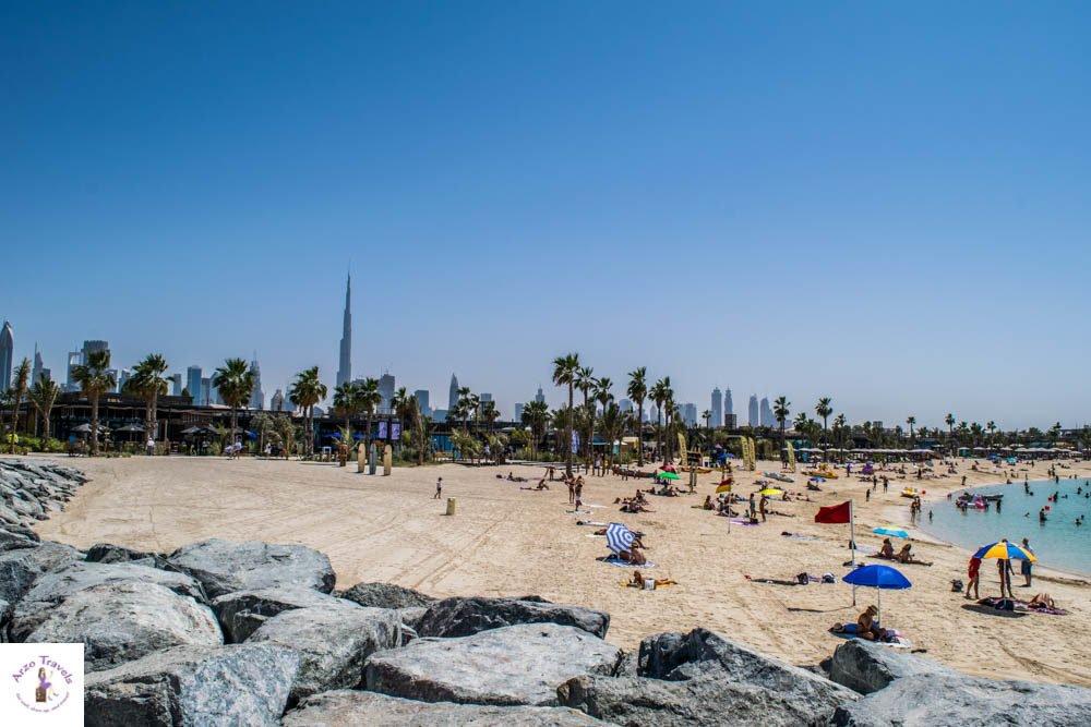 La Mer Beach Dubai - best places to visit in Dubai