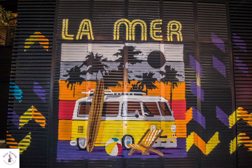 La Mer Dubai with Arzo Travels Graffiti