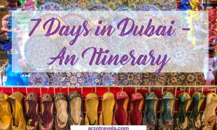 7 Day Itinerary Dubai – Places to Visit in Seven Days