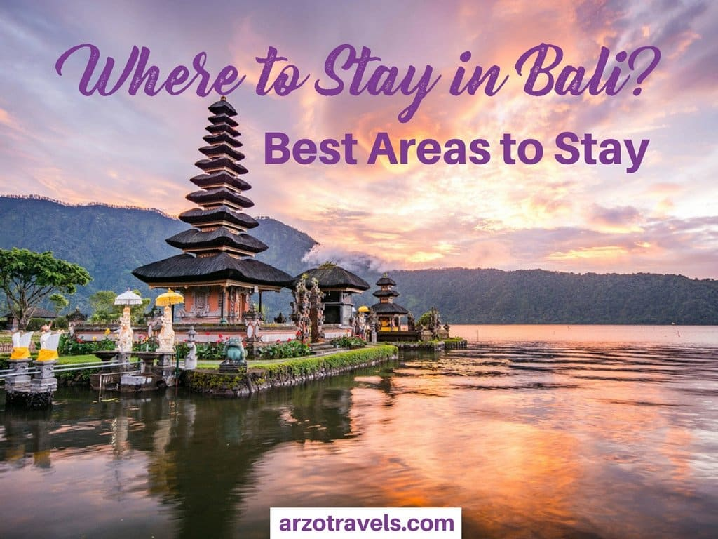 Where to stay in Bali - best areas for all budgets and travel types in Bali