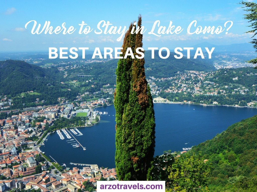 Where to stay in Lake Como - best areas for all budgets and travel types in Lake Como
