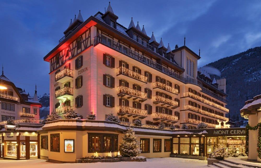 Mont Cervin Hotel a luxury hotel in Zermatt- one of the best places to stay in Zermatt