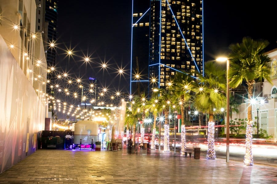 DUBAI JBR at night activities