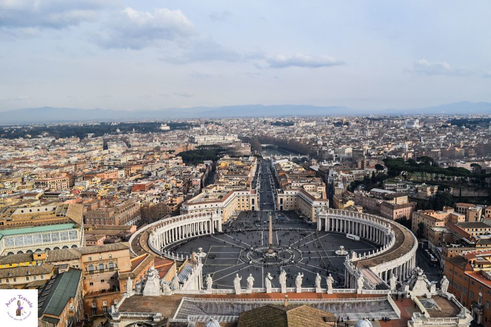 That view....Places to see in Vatican City