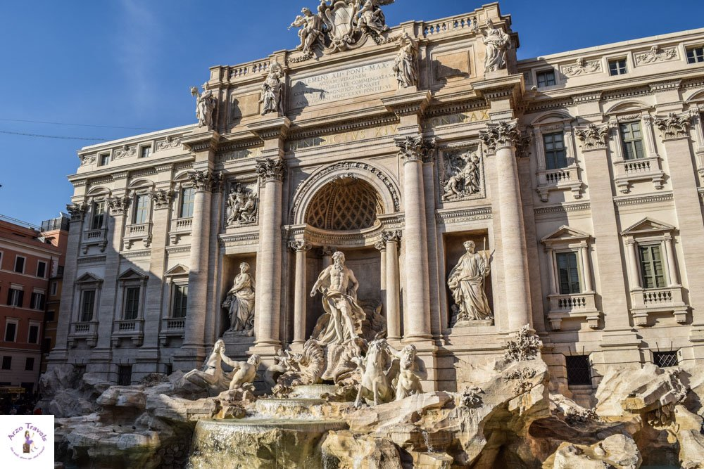 Trevi Fountain in Rome and more things to go in Rome