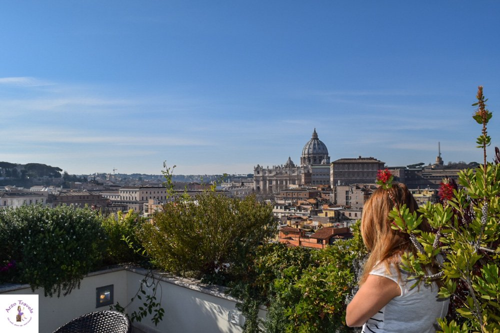 Visit a rooftop bar in Rome with Arzo Travels
