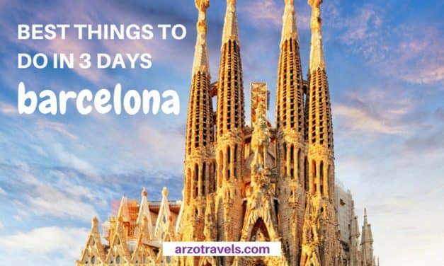 See the Most Beautiful Places in Barcelona – Things to do in 3 Days: An Itinerary