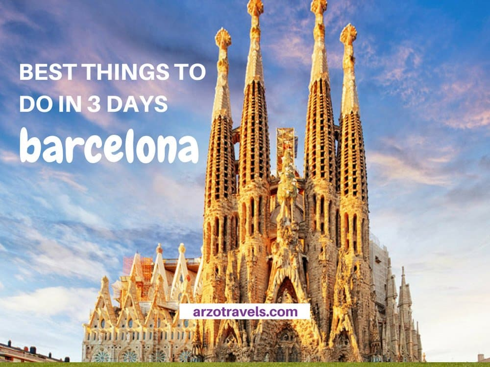 Most Beautiful Places in Barcelona in 3 Days