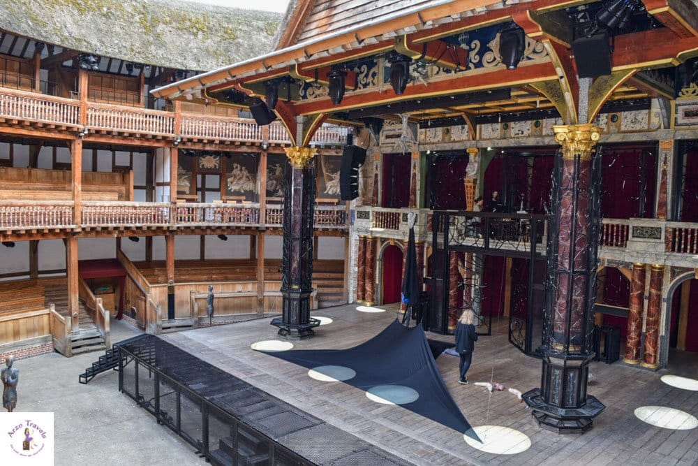 Globe Theater in four days with Arzo Travels