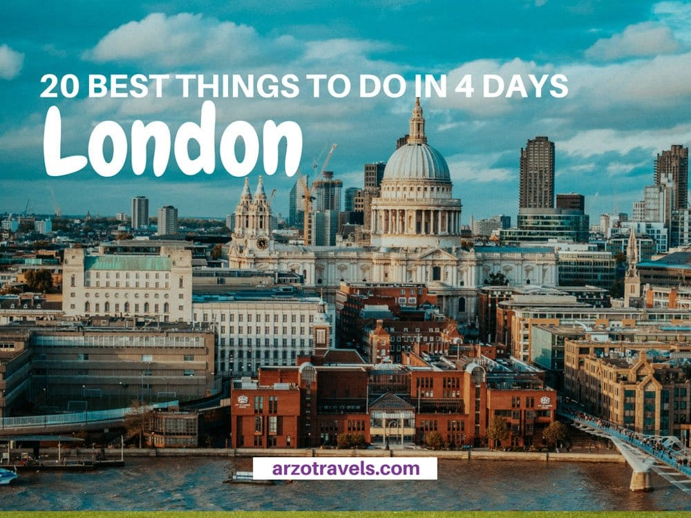 4 Days in London – Itinerary