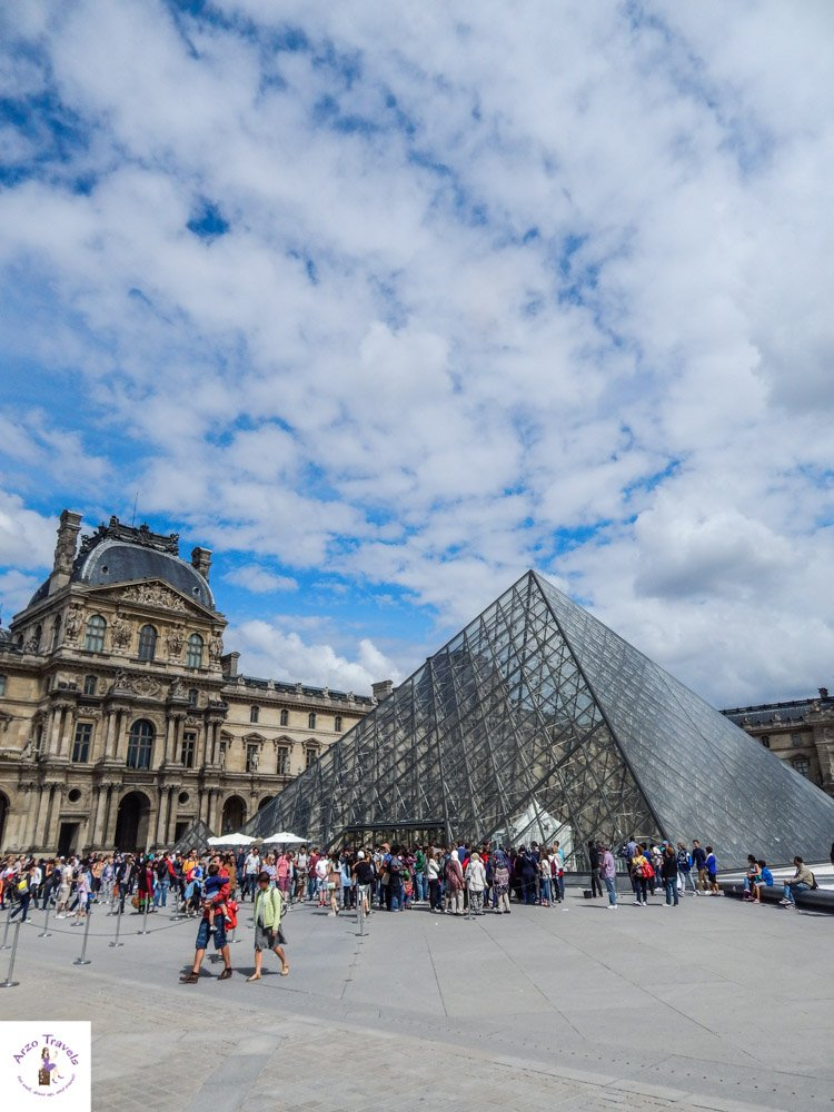 Louvre and more places to see in Paris