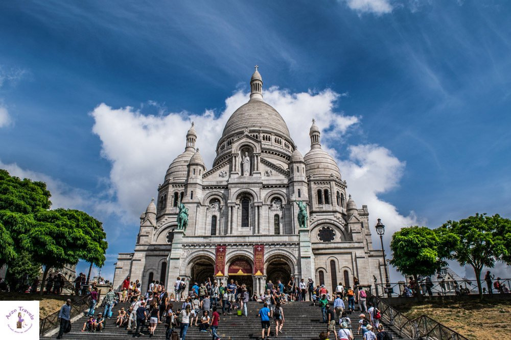 Montmartre and Sacre Couer - where to visit in Paris, Frane