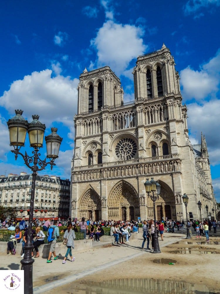 Notre Dame in Paris - things to do in fours days Paris