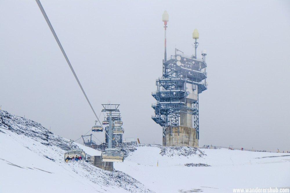 Ice Flyer Switzerland in Mount Titlis. Switzerland what to do