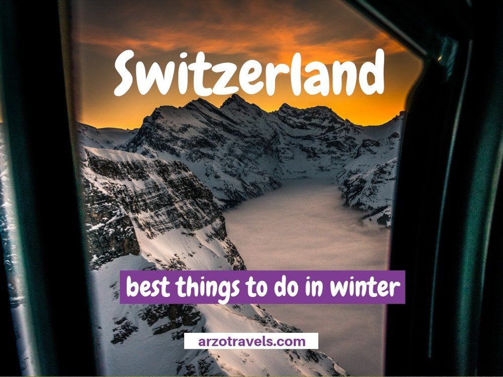 Switzerland, best things to do in winter on Arzo Travels, pic credit @MSC Gerber