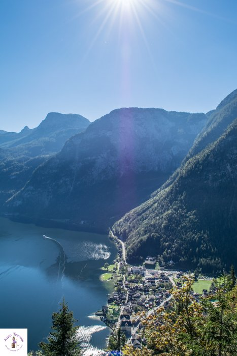 View from above and more points of interets in Hallstatt