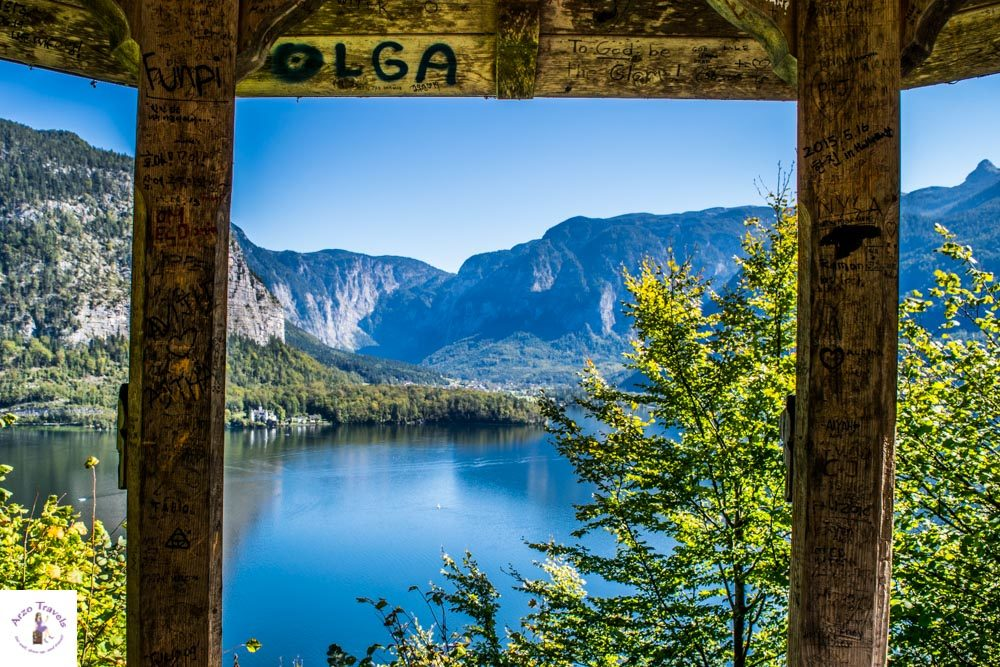 What to do in Hallstatt Austria. Hike with views like this