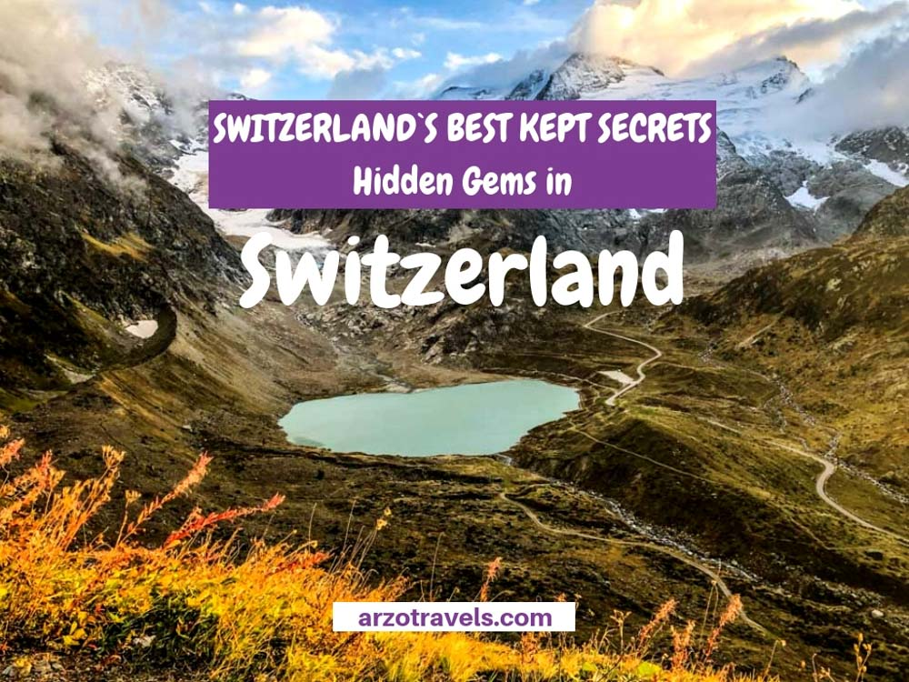 10 unknown places in Switzerland with no tourists