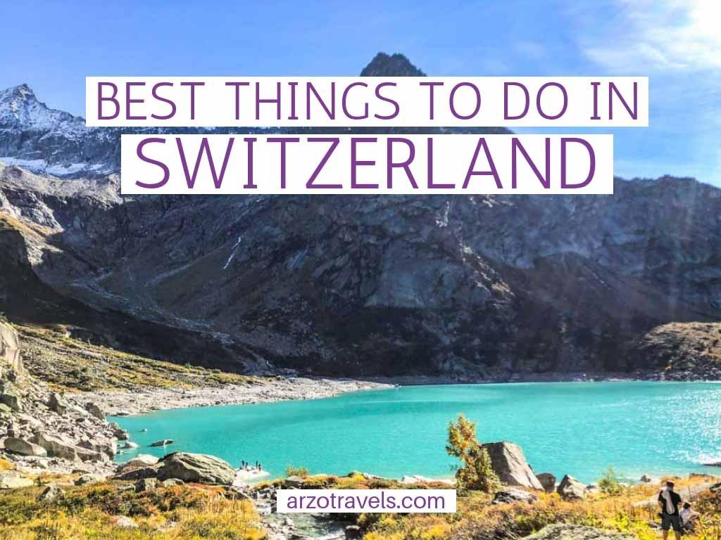 Best things to do in Switzerland, top activities