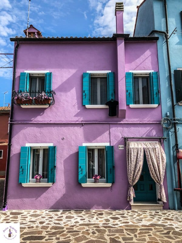 Cutest house in Burano Italy Best Instagram spots in Burano