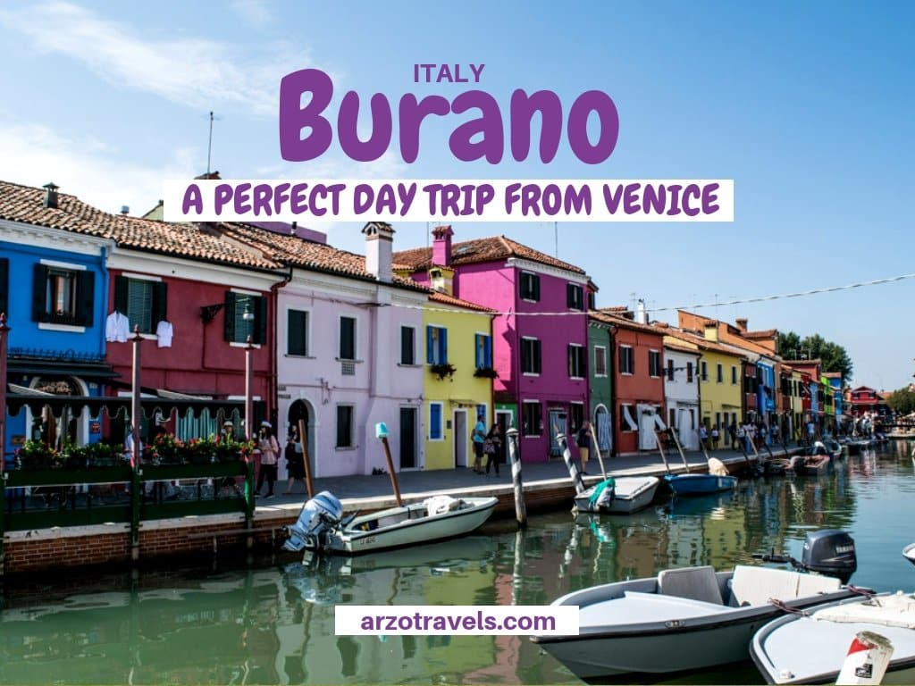 Italy, Burano in 1 day