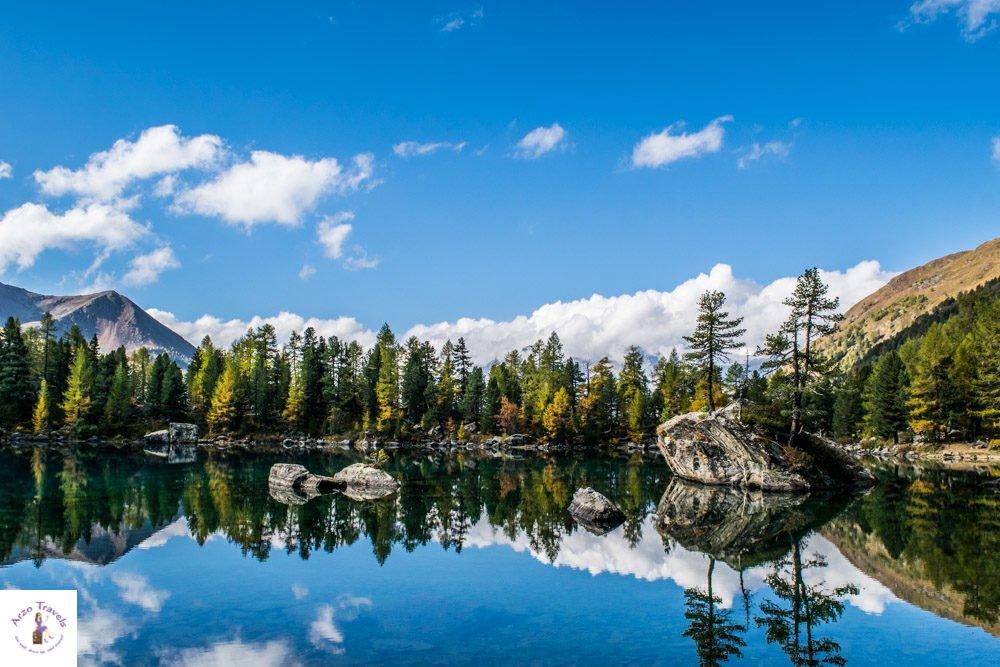 Lago di Saoseo in Valposchiavo