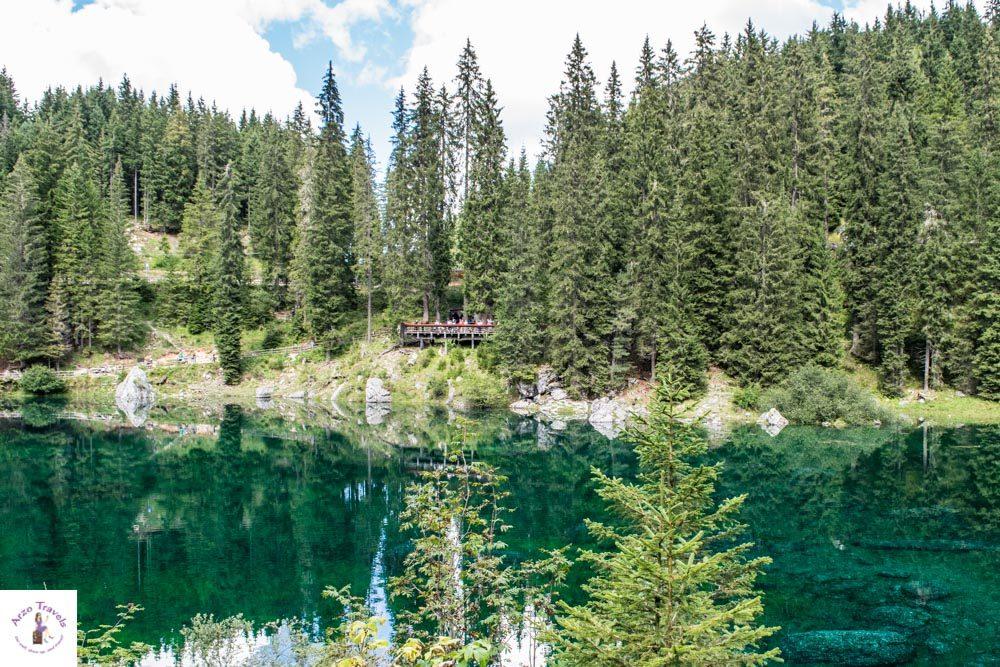 Lake Carezza the most beautoful lake in Italy