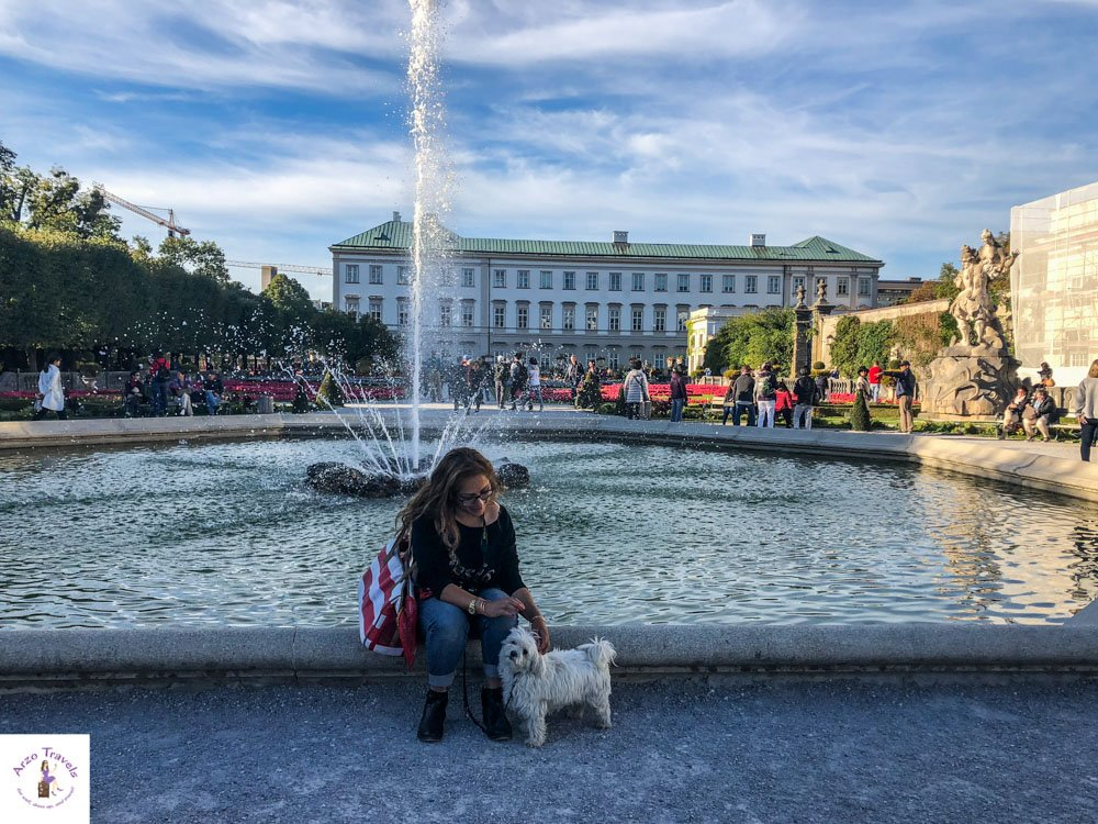 Mirabella Garden in Salzburg