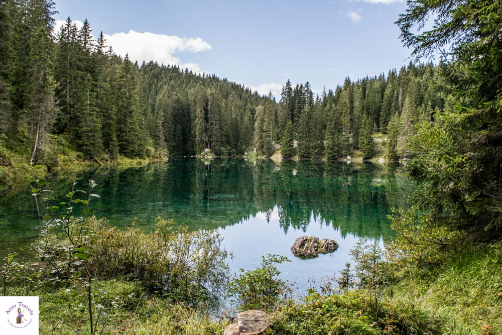 Most beautiful lake in South Tyrol