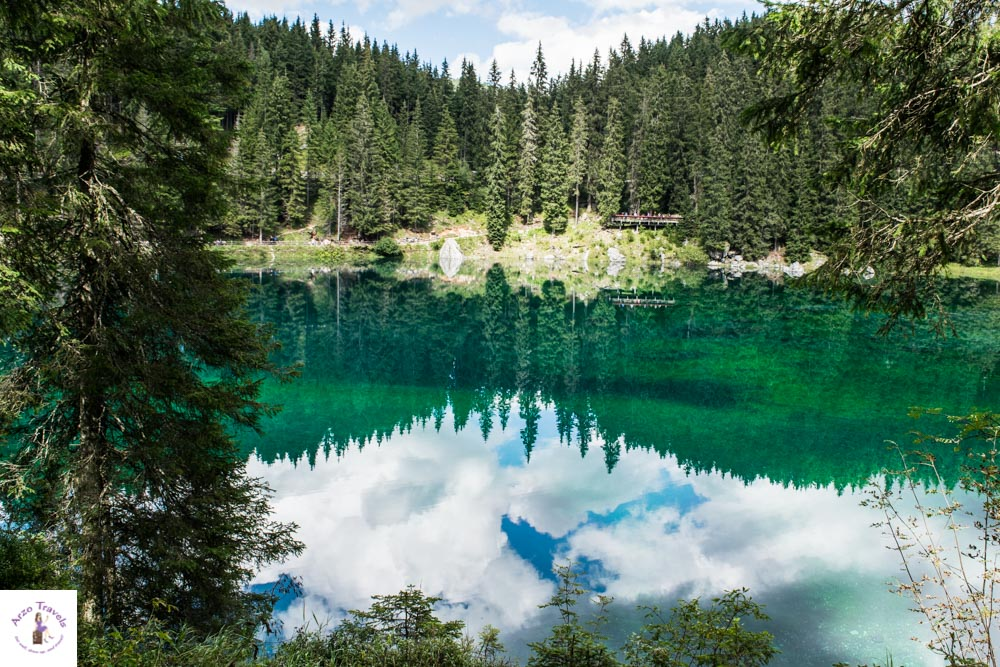 Most beautiful lake in the Dolomites