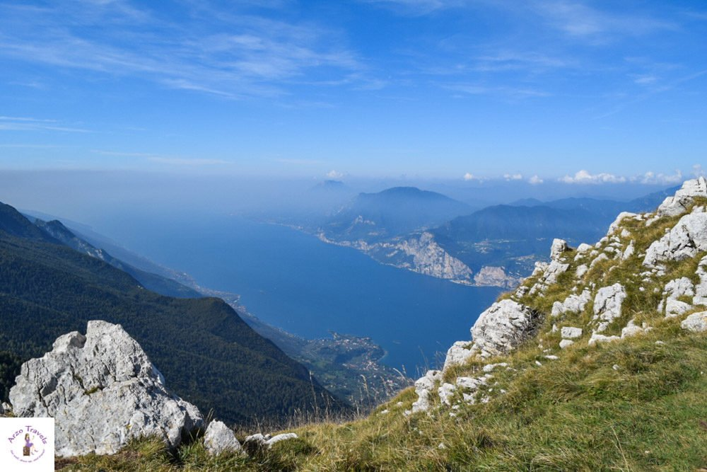Mount Baldo view of Lake Garda