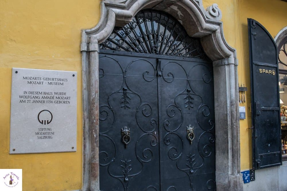 Mozart Birth House in Salzburg