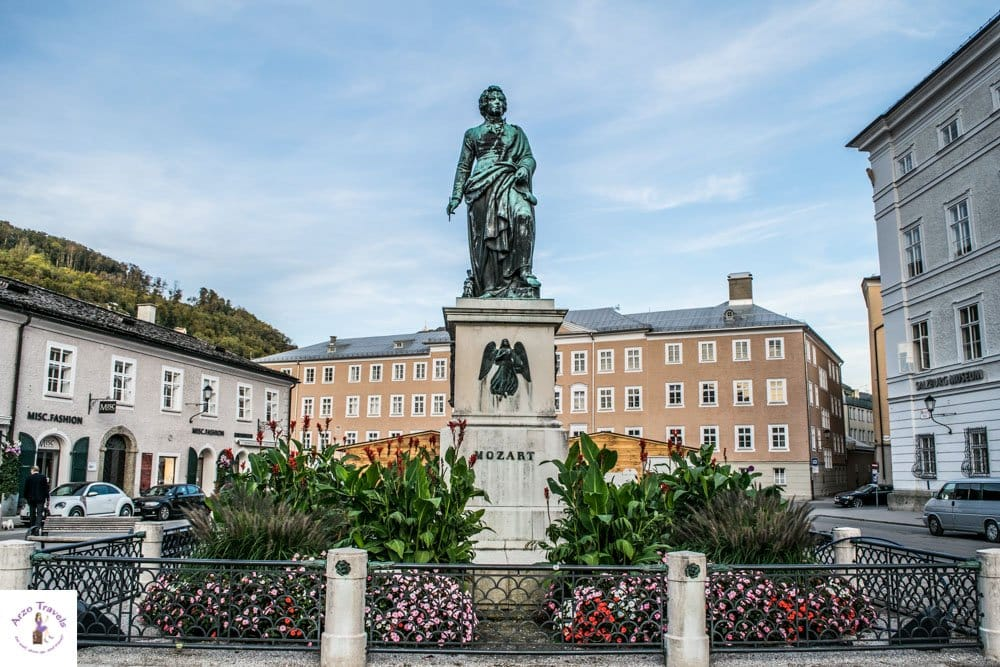 Mozartplatz in Salzburg and more things to see