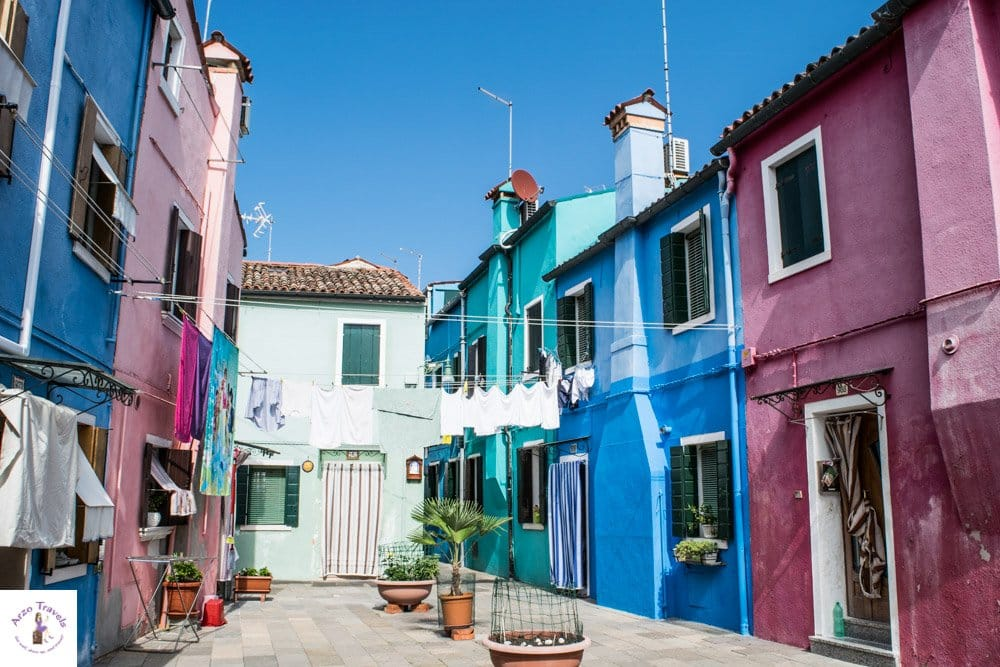 Places to see in Burano in one day