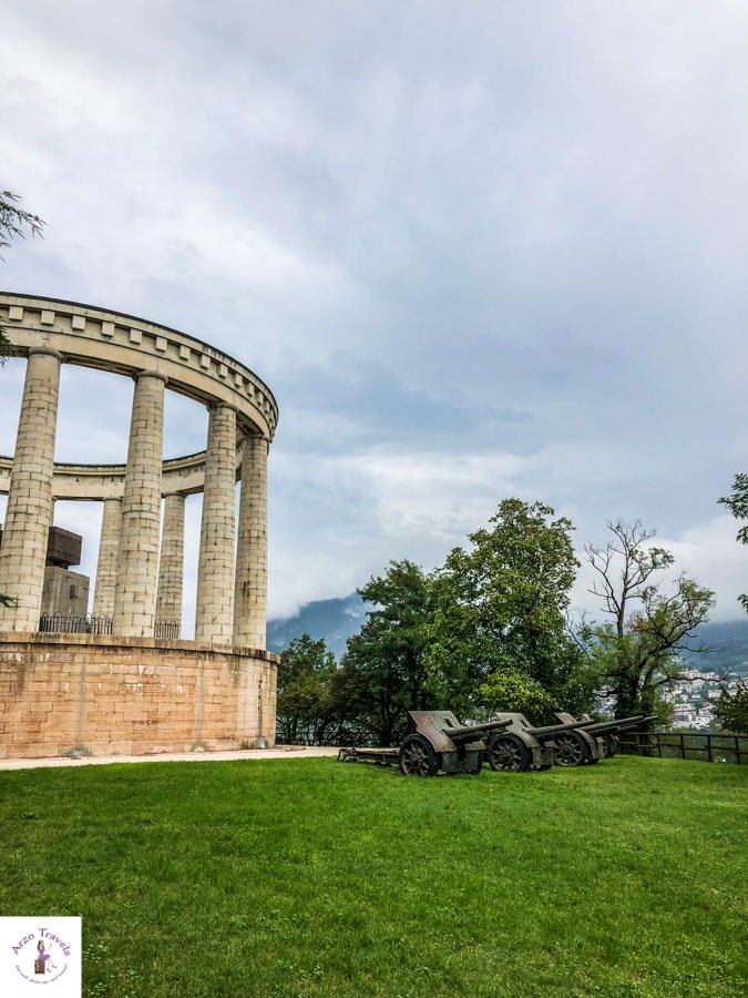Mausoleum of Cesare Battisti  and more tourists attractions in Trento, Italy