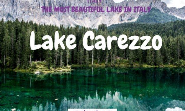 The Most Beautiful Lake in the Dolomites – Lake Carezza