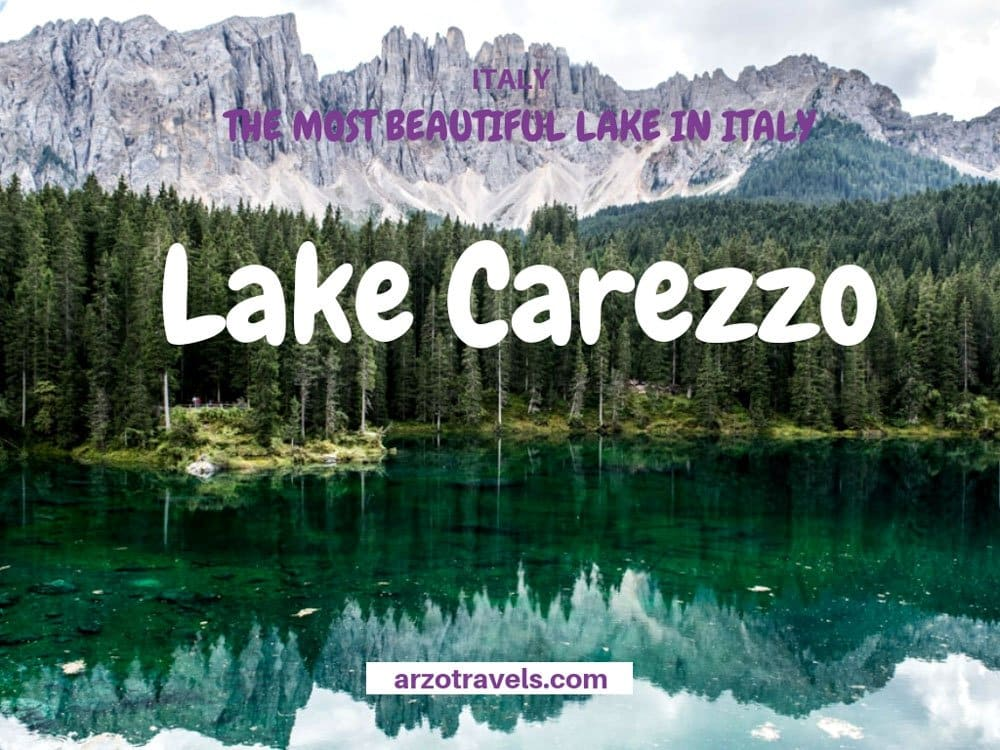 Where to go in the Dolomites, South Tryol the most beautifu lake