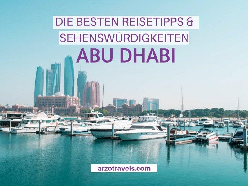 Abu Dhabi Attraktionen und Aktivitäten