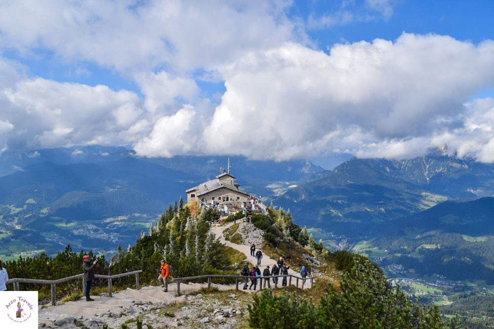 Best mountain views in Bavaria, Germany, Kehlsteinhaus