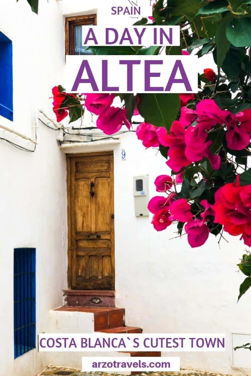 Best places to visit and see in Altea, Costa Blanca, Spain._