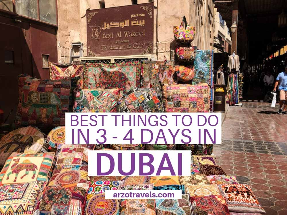 Best things to do and see in Dubai in 3 or 4 days