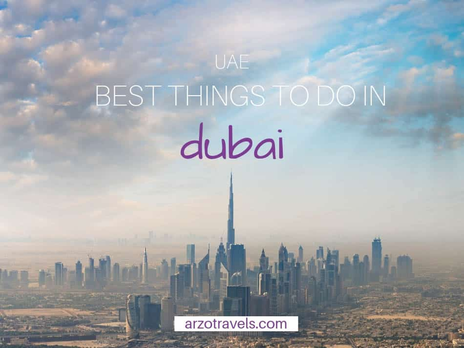 Best things to do in Dubai - cover image