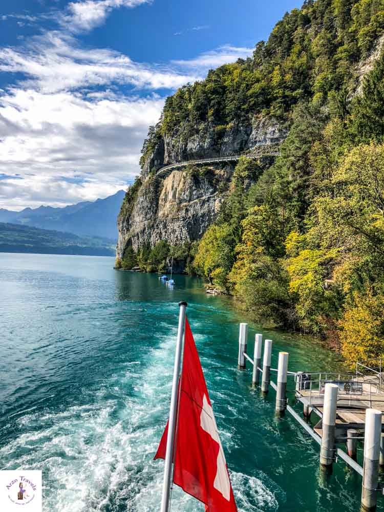 Best things to see at Lake Thun, boat tour Lake Thun